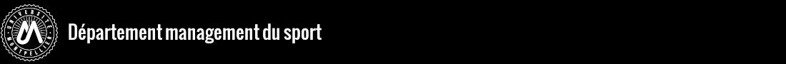 Département Management du Sport Logo